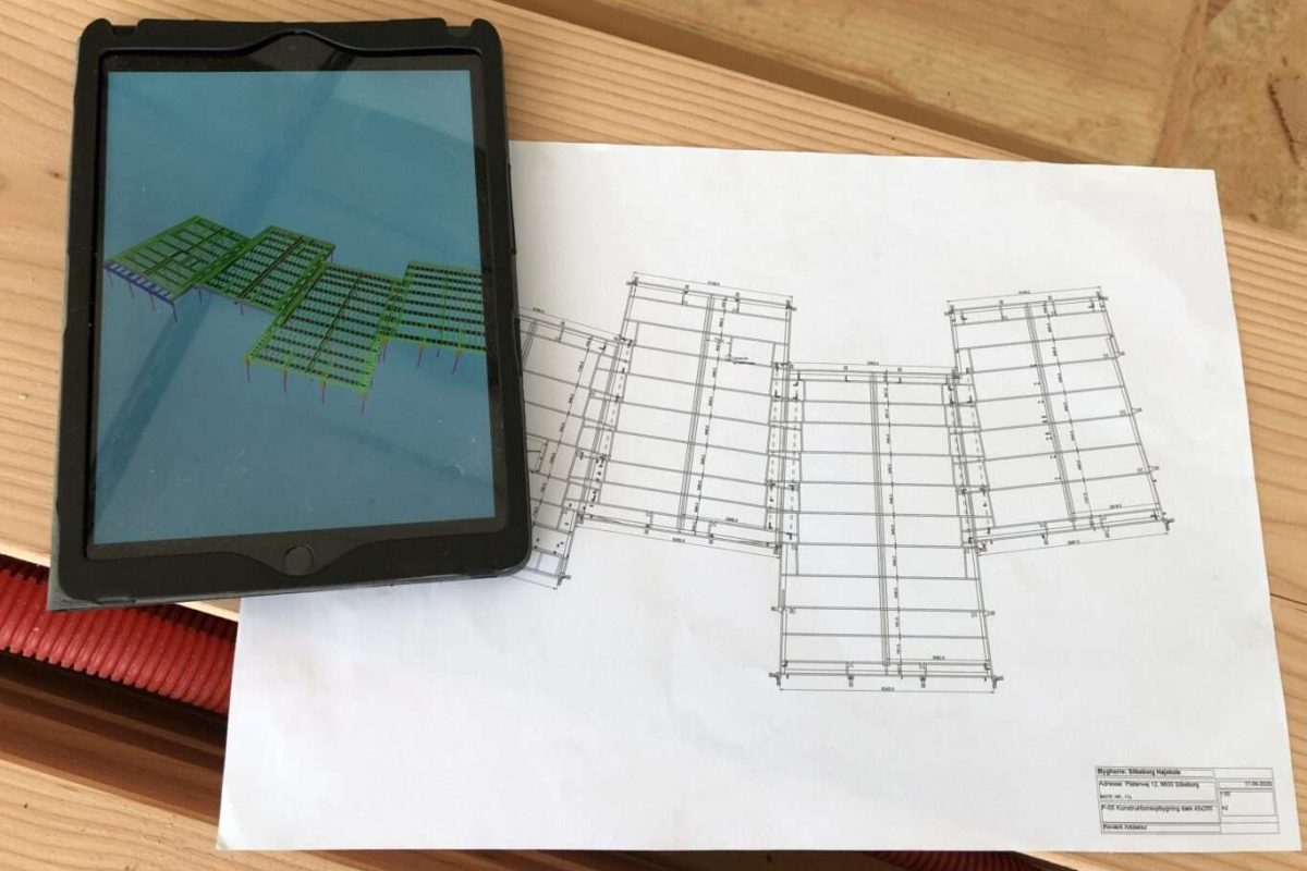 3D visualisering af 2D plantegning